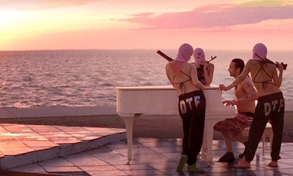 Spring Breakers piano scene